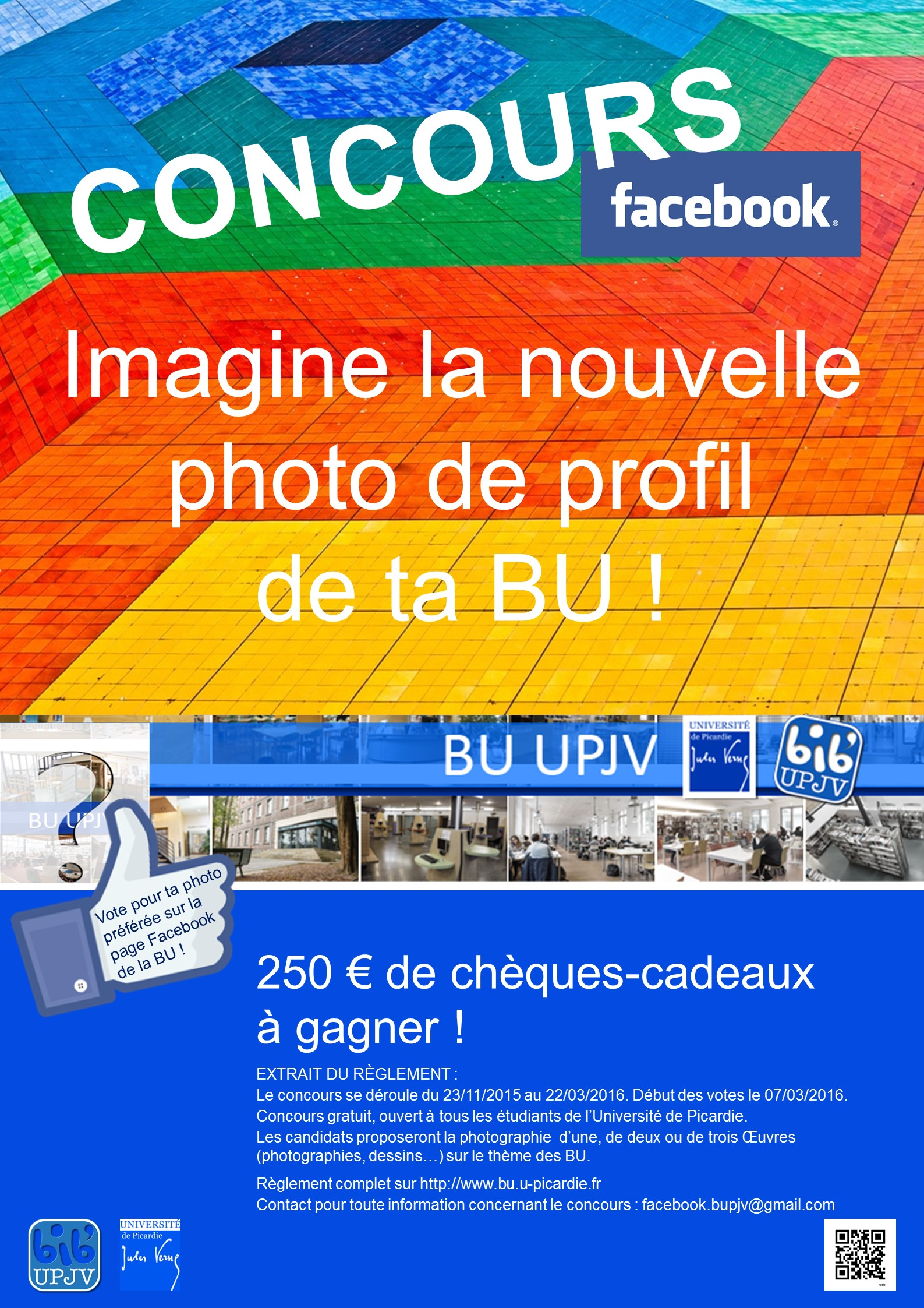 Affiche concours facebook
