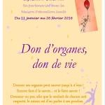 affiche don d'organes