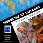 Affiche medecine et voyages