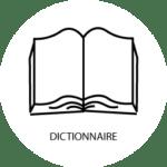 """pictogramme livre ouvert """"dictionnaire"""""""