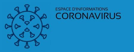 "Visuel ""espace information coronavirus"""