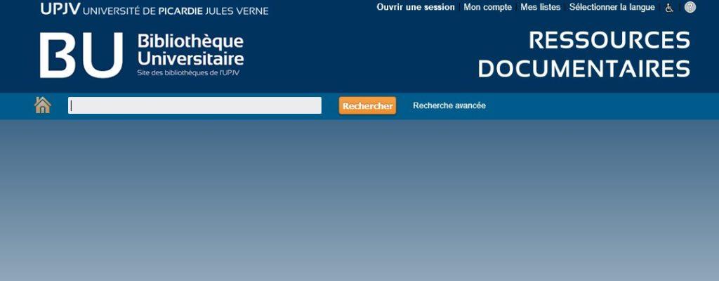 Capture écran site BU : le catalogue des BU nouvel habillage