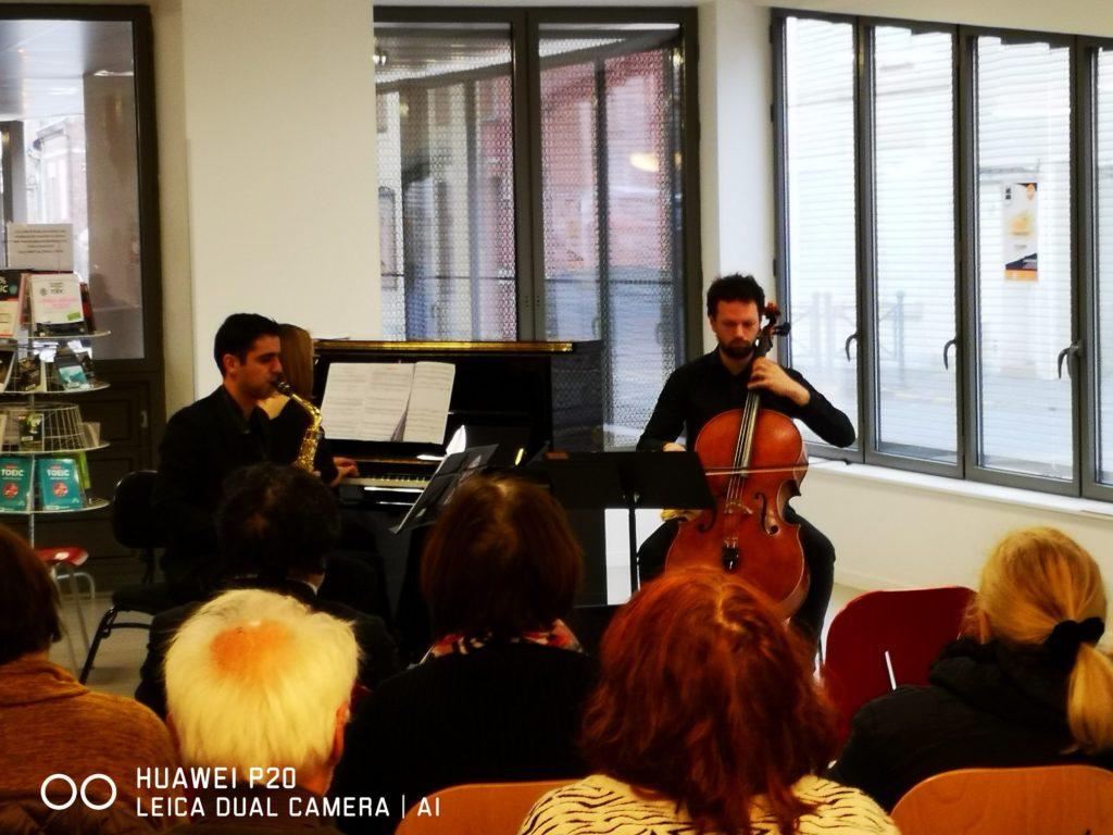 """Photographie """"Orchestre de Picardie"""", la BU de Saint-Quentin"""