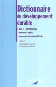 dictionnaire développement durable
