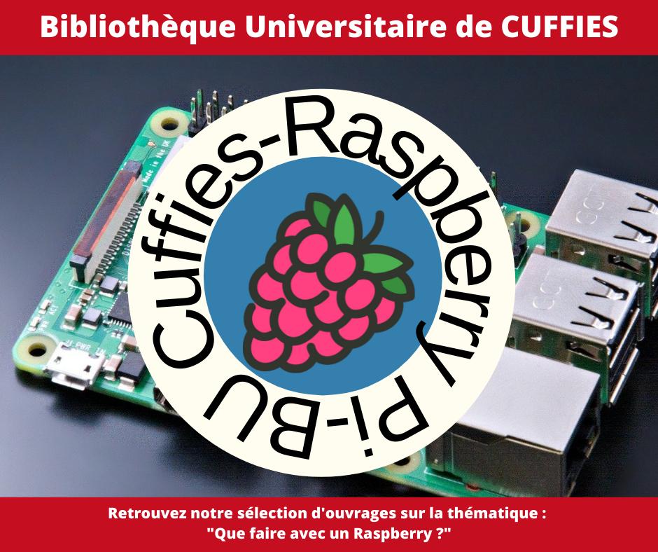 Thématique des BU 2021Raspberry Pi) à la BU de Cuffies